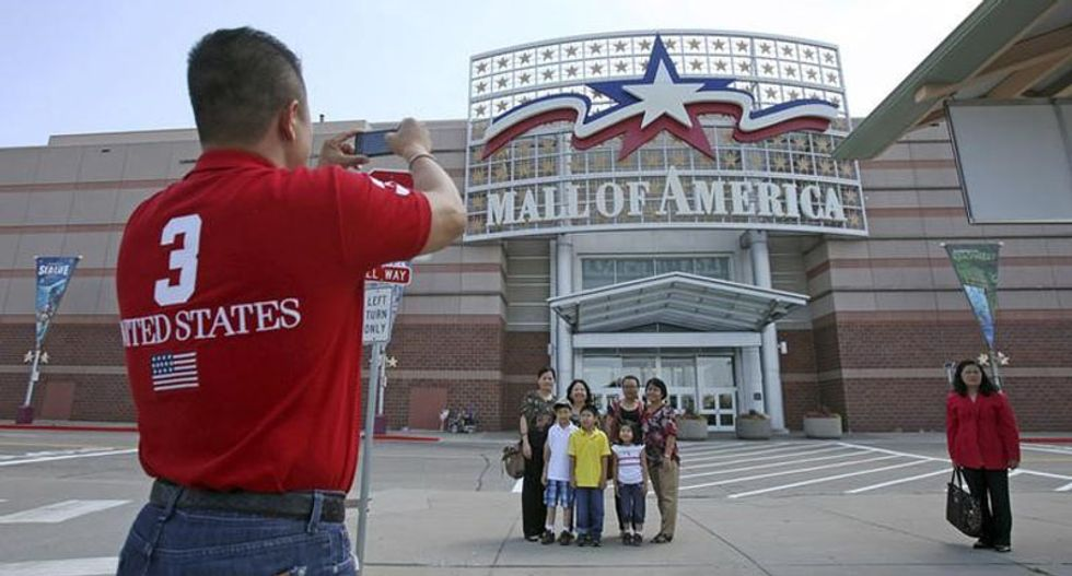 Homeland Security unaware of any specific terrorist threats against US malls