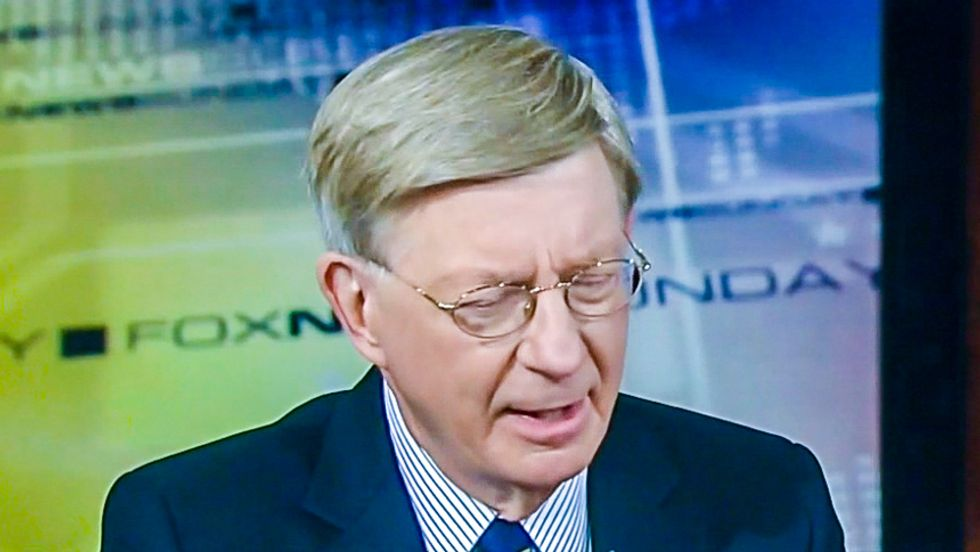 George Will advises Scott Walker on evolution: When asked if you believe, 'you answer yes!'