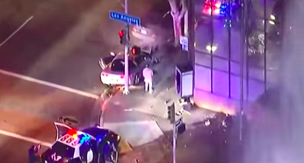 No charges for LA cops who gunned down unarmed veteran on live TV during chase