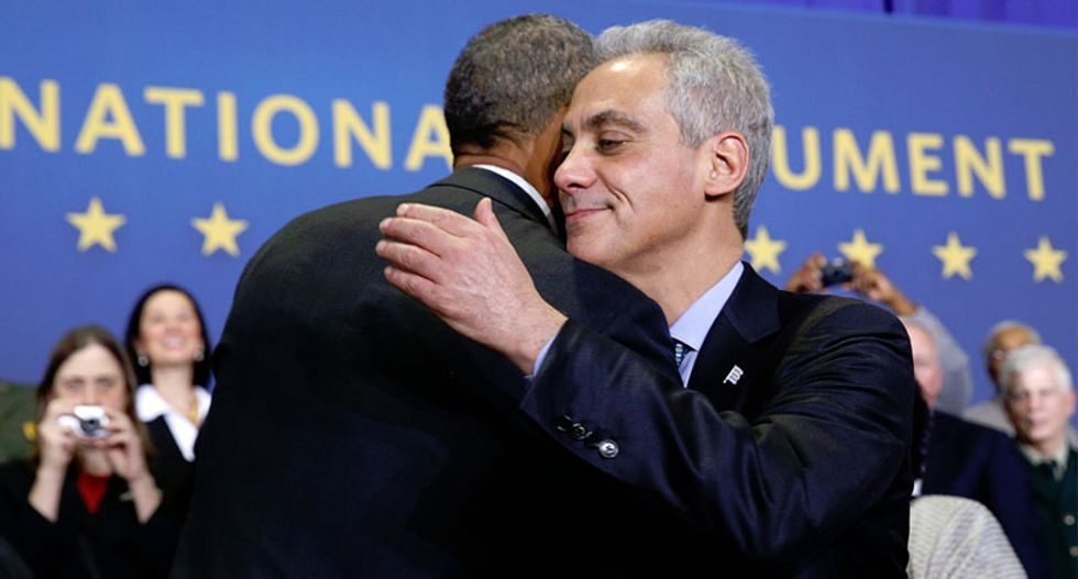 Chicago's Mayor Emanuel hopes to avoid run-off in election