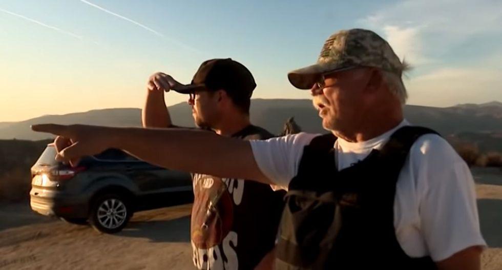 Shocking video shows heavily-armed Trump-loving vigilantes detaining asylum seekers in New Mexico