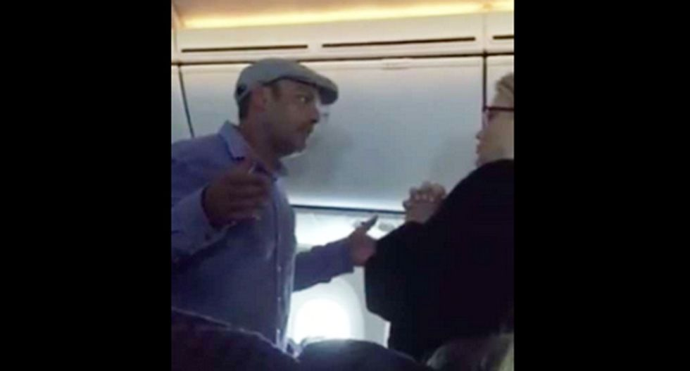 'You want to hear me f*cking yelling?': US-bound flight diverted after passenger goes on racist rant