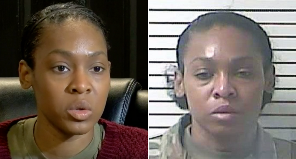WATCH: Black Army sergeant arrested for defending herself from racist road-rage attacker