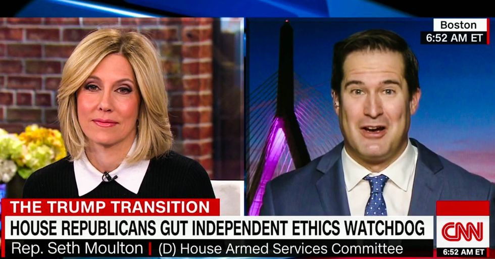 Dem lawmaker slams GOP for gutting ethics panel: 'Is there anyone who thinks Congress is too ethical?'
