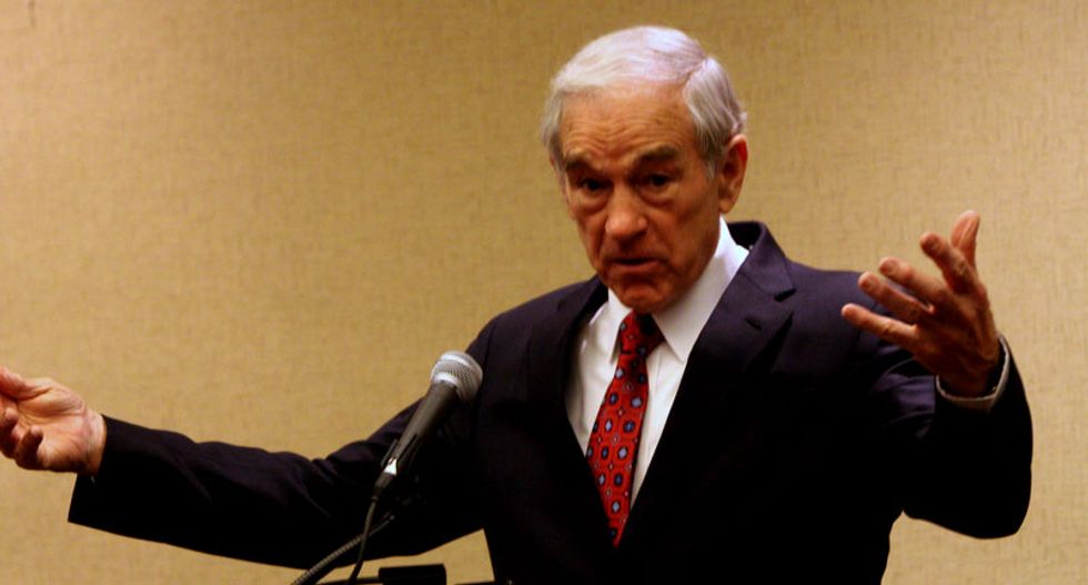 Ron Paul: Congressional Black Caucus opposes war because they want food stamps