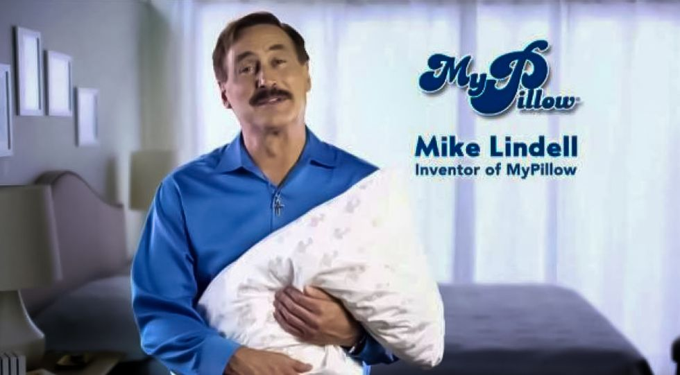 Trump-loving MyPillow CEO lays off 150 people -- after crediting president's tax cuts for 'economic boom'
