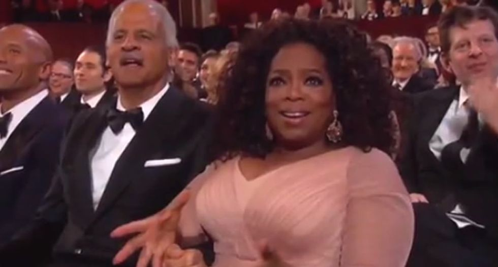 Conservatives complain there were too many black people at the 'racist' Oscars