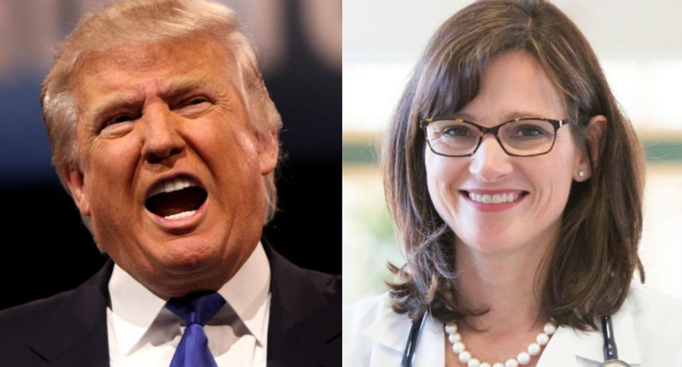 Wife of ex-deputy FBI director McCabe rips Trump's 'false and utterly absurd' narrative attacks on her husband