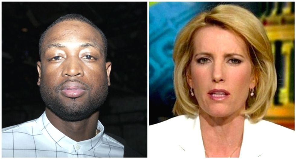 Miami Heat's Dwayne Wade drags Fox host Laura Ingraham after her unhinged attack on LeBron James