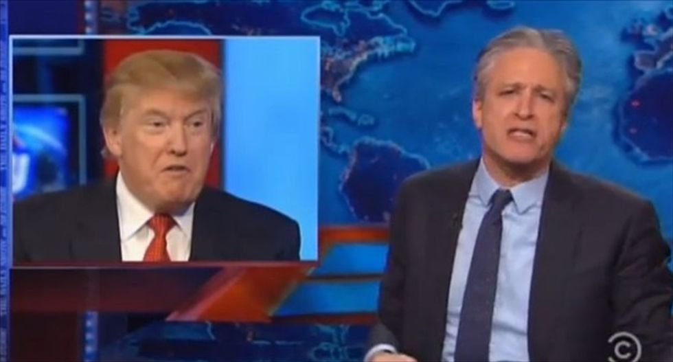 Jon Stewart: Conservatives don't want anti-ISIS strategy from Obama -- 'just military porn talk'