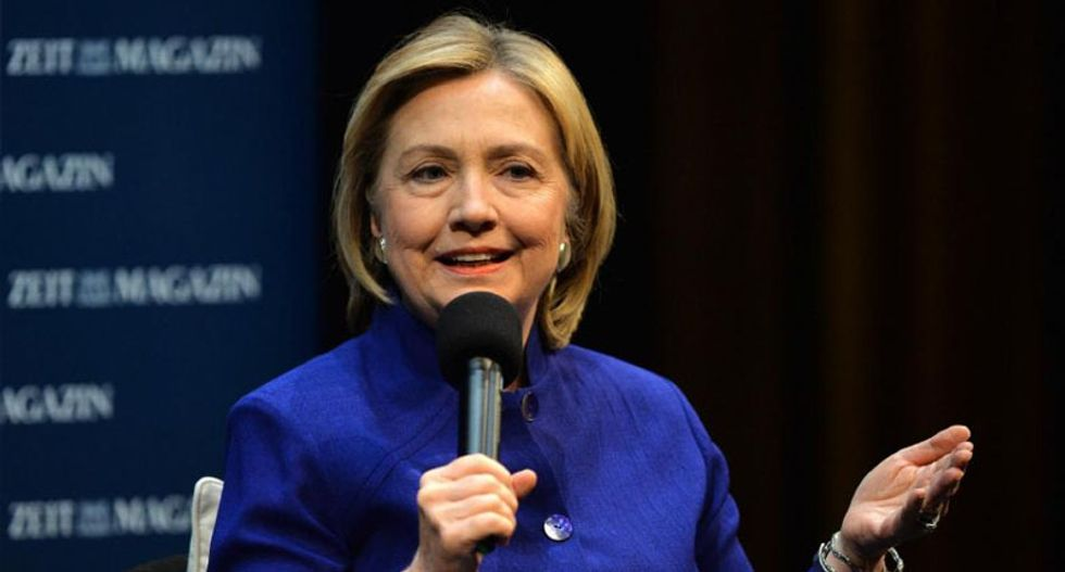Hillary Clinton: Silicon Valley going backwards when it comes to gender equality