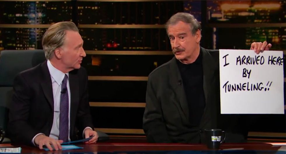 WATCH: Vicente Fox blames US school shootings on 'violent language and racism' coming from Trump White House