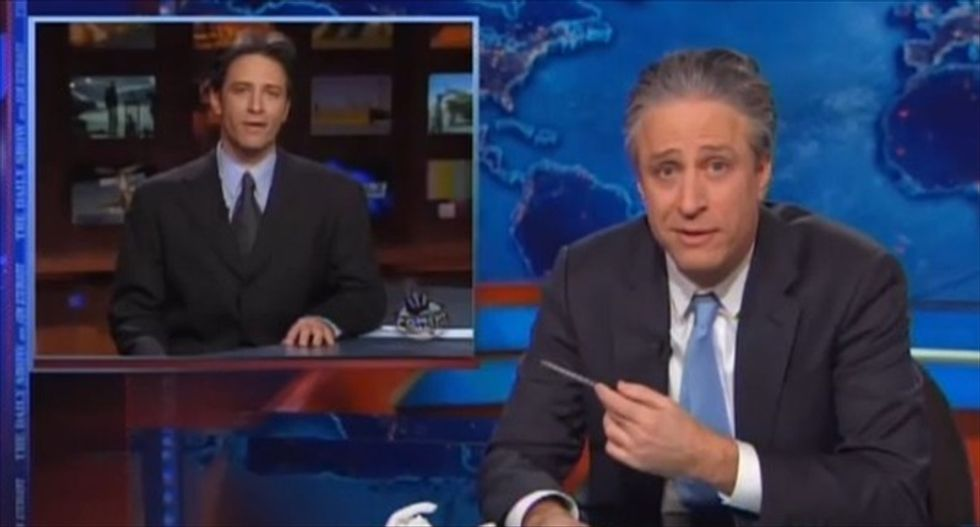 Jon Stewart hammers Fox News' non-stop anger: 'Even watching it is killing me'