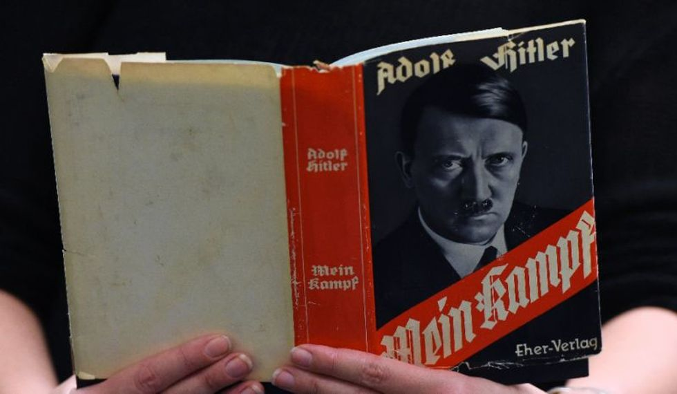 Reprint of Adolf Hitler's 'Mein Kampf' becomes a bestseller in Germany