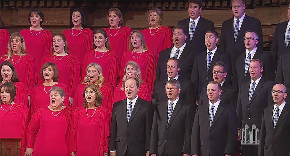 'He doesn't like Trump one bit': Choir quitter isn't only Mormon with inauguration dread