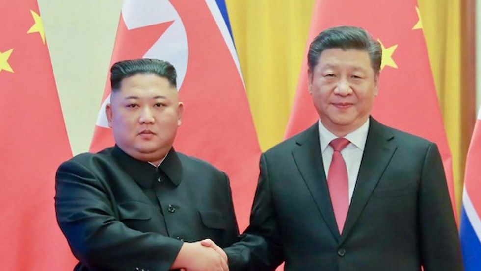 China's President Xi Jinping hails 'irreplaceable' friendship with North Korea's Kim Jong un ahead of Pyongyang visit
