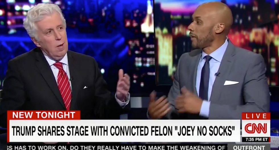 Jeffrey Lord: No one cares if Trump pals around with 'shady characters' because he needs to fight ISIS