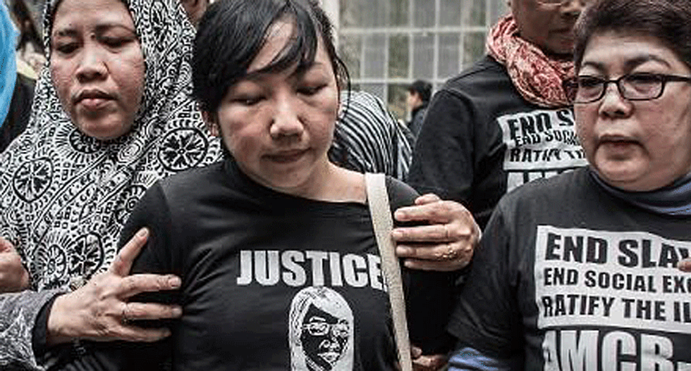 Hong Kong woman jailed for six years for beating, starving and keeping maid prisoner