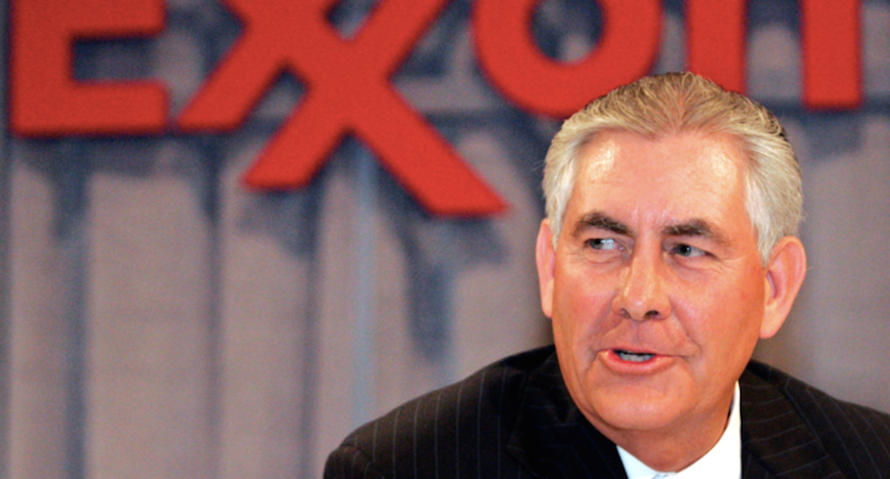 Rex Tillerson to cut ties with Exxon Mobil and put $182M worth of shares into blind trust
