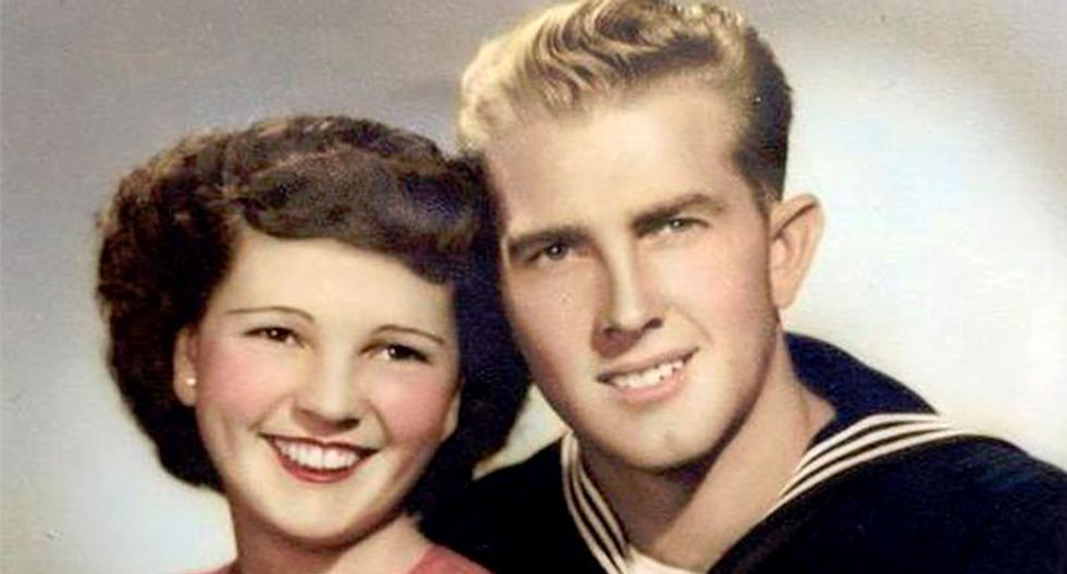 California couple, married 67 years, die holding hands