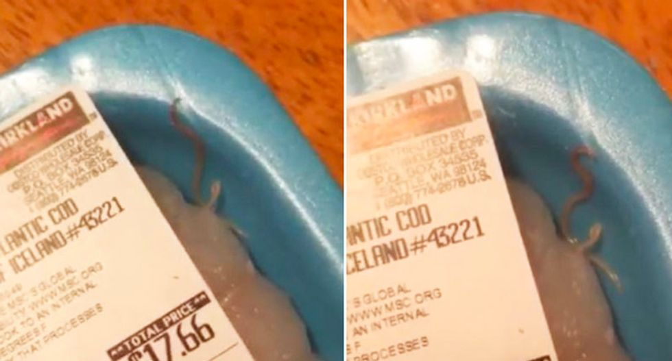 This woman found worms in her Costco fish -- and it only gets worse from there