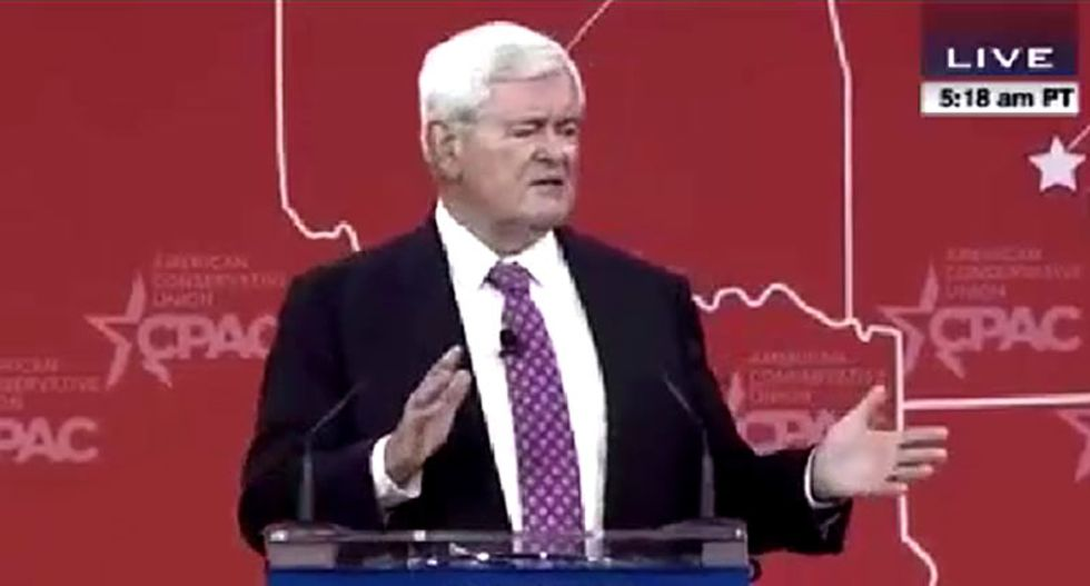 Newt Gingrich: Islamic extremists are trying to 'penetrate' America by supporting Hillary Clinton