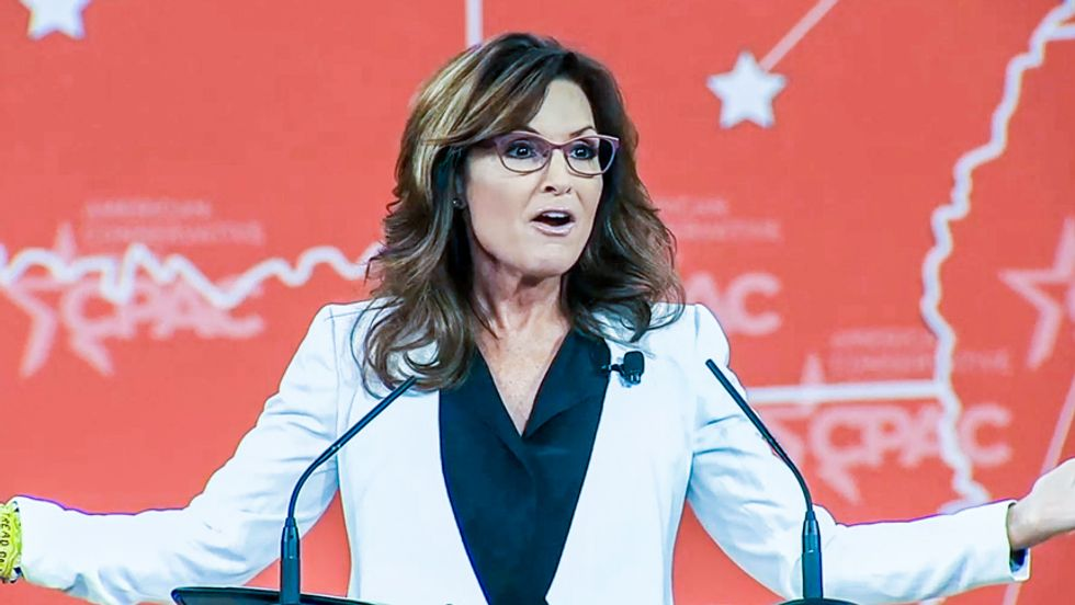 'Young Turks' roast CPAC and 'queen clown' Sarah Palin: 'They're giggly over World War II'