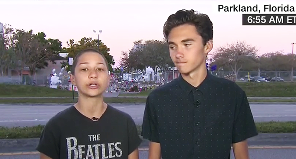 WATCH: Parkland students shred Trump for 'pathetic' tweets politicizing their school tragedy