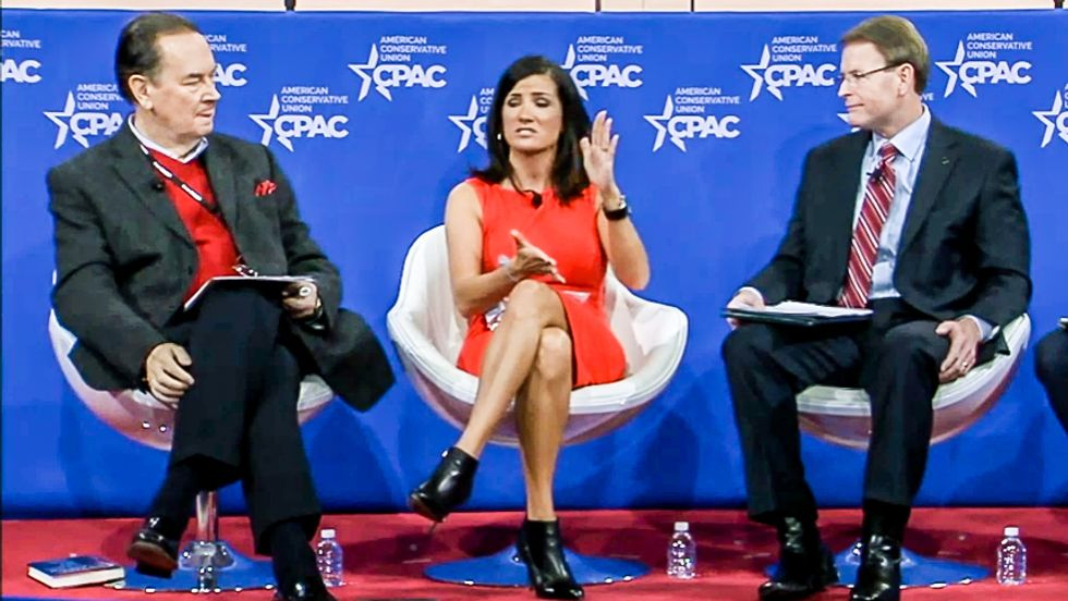 Dana Loesch leads religion pity party at CPAC: 'It's time to make Christians a protected class'