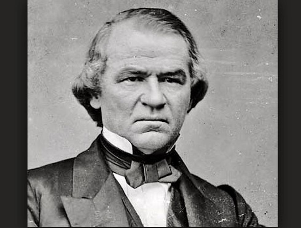 Andrew Johnson's failed presidency echoes in Trump's White House
