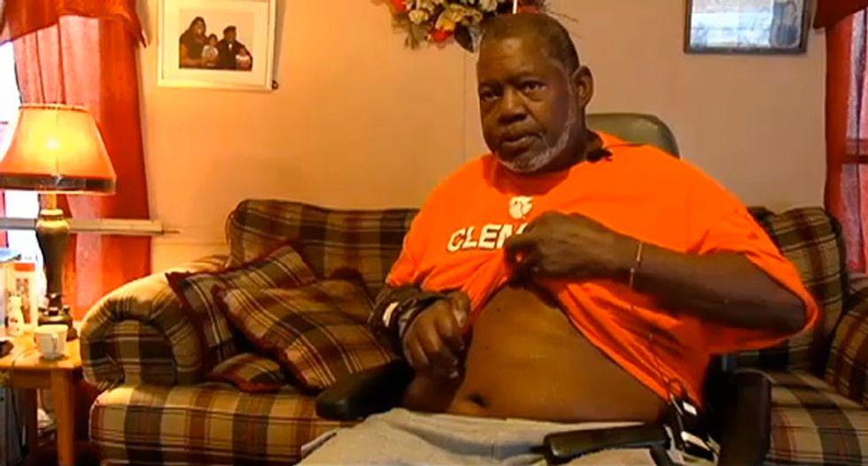 South Carolina deputy fired after using Taser on wheelchair-bound man