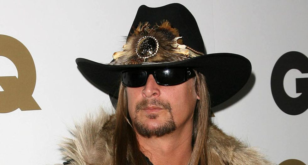 Kid Rock puts his Obama-hating right-wing jackassery on full display ahead of new album