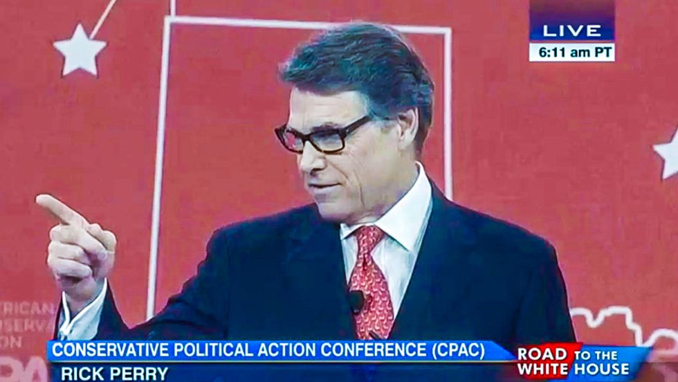 Rick Perry goes apocalyptic at CPAC with best ISIS freakout of the day