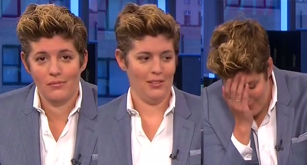 Sally Kohn flabbergasted when Trump's surrogate claims women don't care about the grope tape