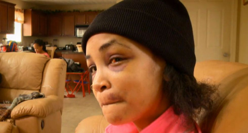 Atlanta police seek woman's 'friends' who beat her for two hours then posted video online