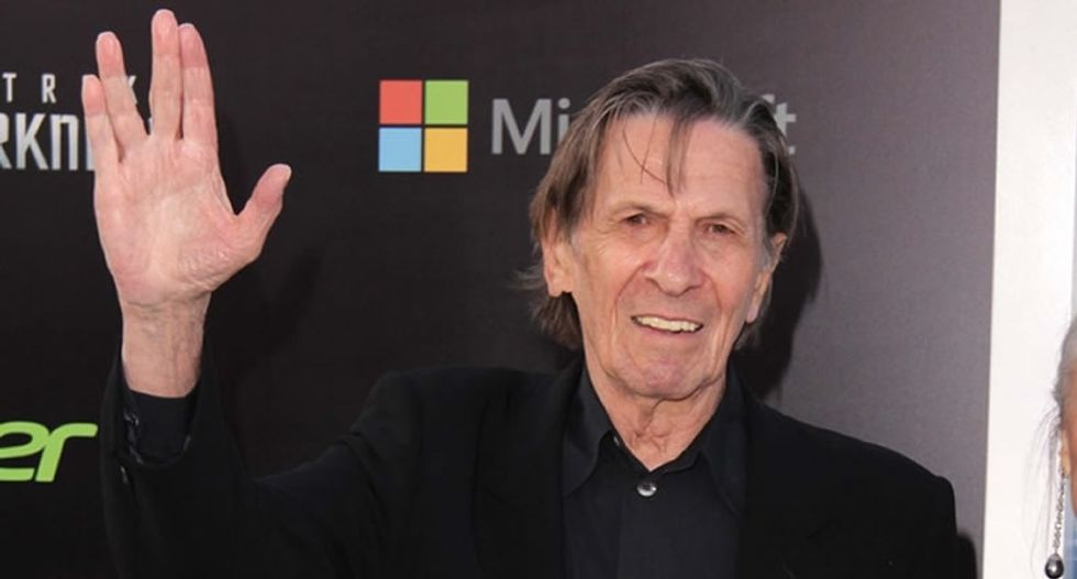 These Leonard Nimoy farewells from friends and fellow travelers will hit your heart-spot
