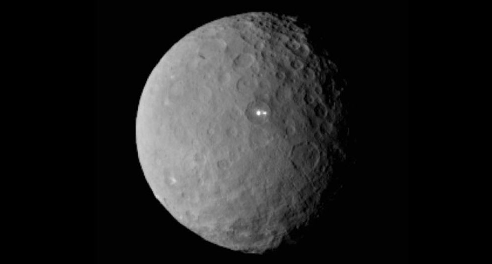 The more scientists learn about dwarf planet Ceres, the weirder it becomes