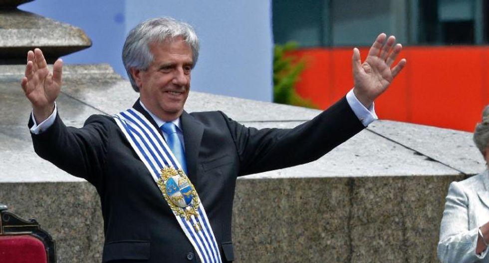New Uruguay president takes over from pot-friendly farmer
