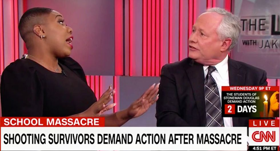 WATCH: CNN discussion about Parkland blows up after Bill Kristol tells Symone Sanders not to bring 'race' into it