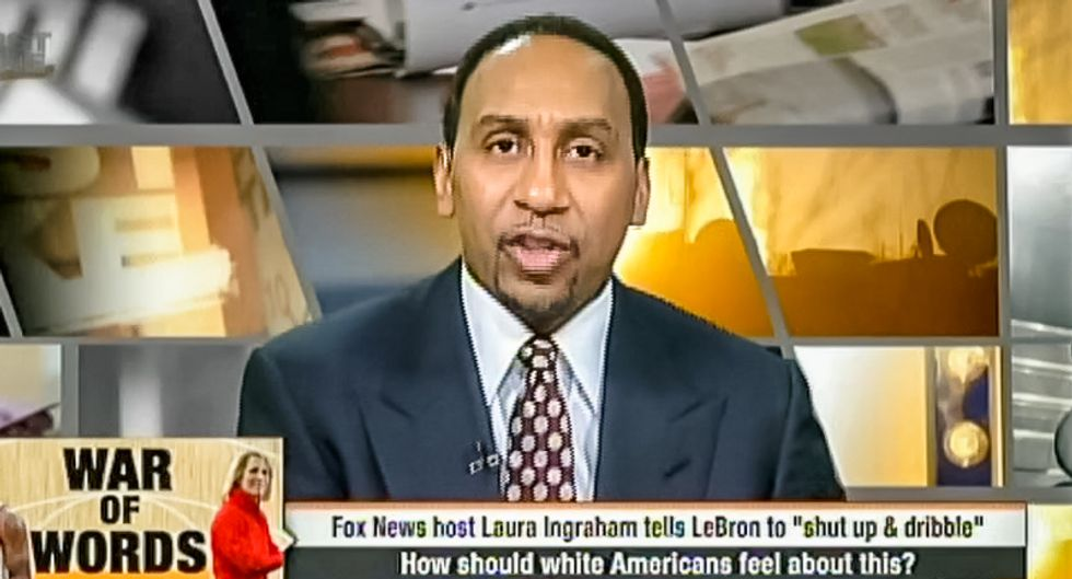 ESPN host righteously goes off on white privilege after Laura Ingraham tells LeBron to 'shut up and dribble'