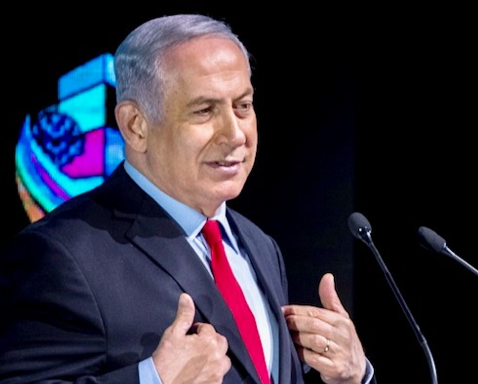 Israel's Netanyahu collaborating with far-right leader for a 'consensus view' of the Holocaust: report