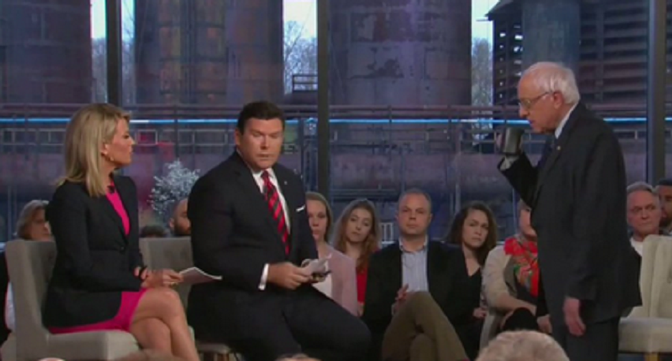 Fox polled the crowd at Bernie Sanders town hall — and it 'backfired spectacularly'