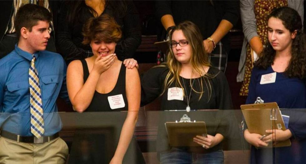 As students watch, Florida GOP lawmakers debate porn but refuse to take up assault weapons ban