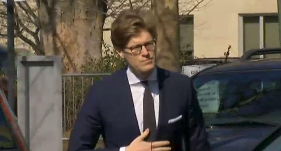 Attorney Alex Van der Zwaan pleads guilty in Mueller probe of Trump-Russia collusion