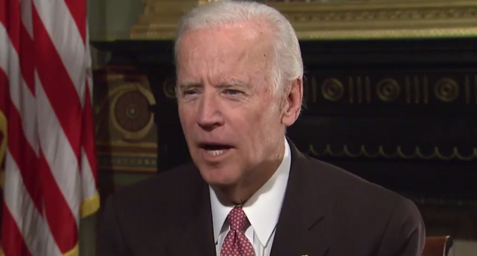 Joe Biden slams Trump's 'naked nationalism' at the president's alma mater — without even mentioning his name