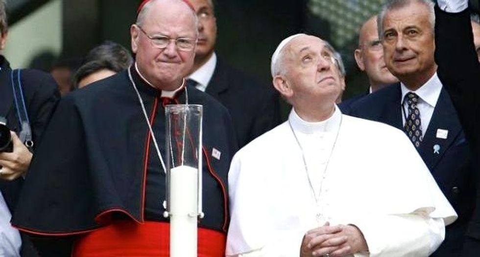 Pope prays at 9/11 Memorial after UN speech