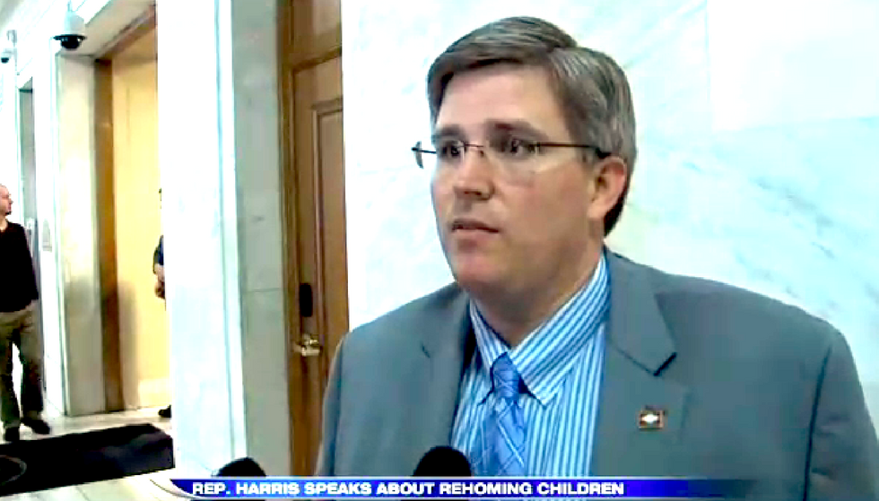 Arkansas Republican leaves leadership posts after reports on his 'rehoming' daughters to rapist