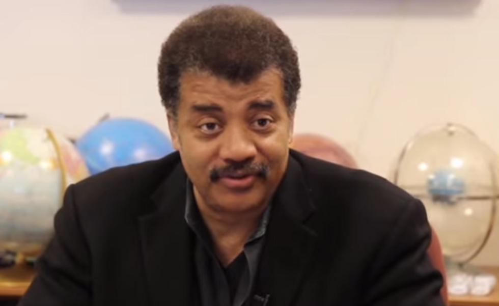 'We're not just making sh*t up': Neil deGrasse Tyson slaughters anti-science crank at press event