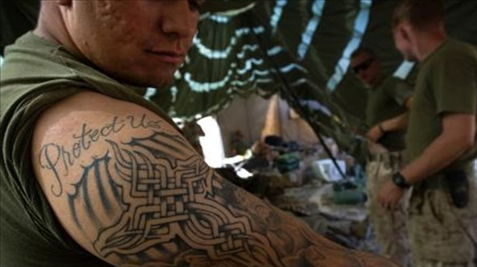 'Sleeves up': Rule banning Marines from baring arms is repealed