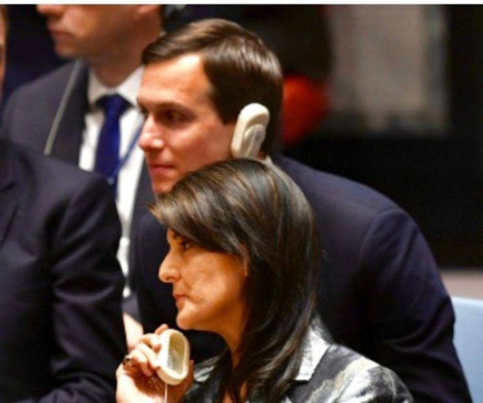 US envoys want UN to back Trump's Mideast peace plan: diplomats